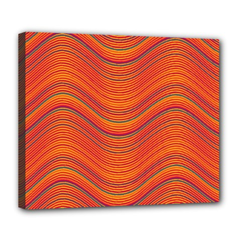 Pattern Deluxe Canvas 24  x 20