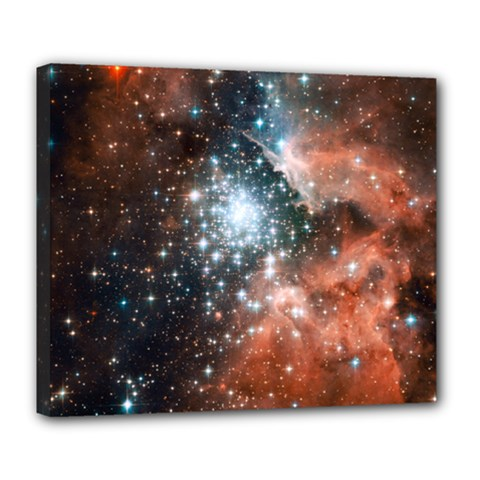 Star Cluster Deluxe Canvas 24  x 20