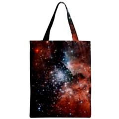 Star Cluster Zipper Classic Tote Bag