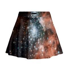 Star Cluster Mini Flare Skirt