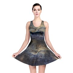 Propeller Nebula Reversible Skater Dress