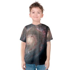 Whirlpool Galaxy And Companion Kids  Cotton Tee