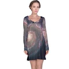Whirlpool Galaxy And Companion Long Sleeve Nightdress