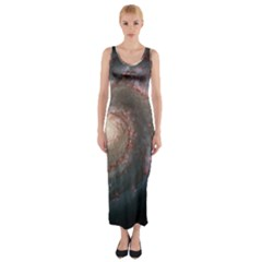 Whirlpool Galaxy And Companion Fitted Maxi Dress