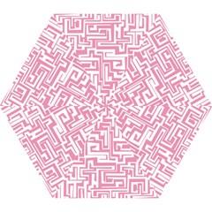 Pink pattern Mini Folding Umbrellas