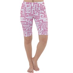 Pink pattern Cropped Leggings