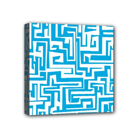 Pattern Mini Canvas 4  x 4