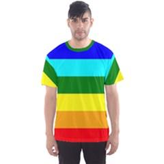 Rainbow Men s Sport Mesh Tee
