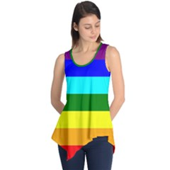 Rainbow Sleeveless Tunic