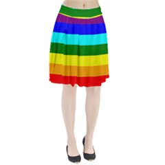 Rainbow Pleated Skirt