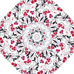 Floral pattern Hook Handle Umbrellas (Medium)