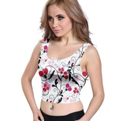 Floral pattern Crop Top