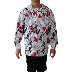 Floral pattern Hooded Wind Breaker (Kids)