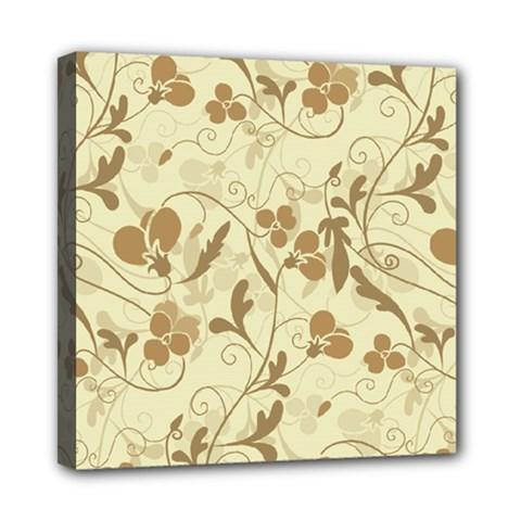Floral pattern Mini Canvas 8  x 8
