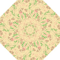 Floral pattern Straight Umbrellas