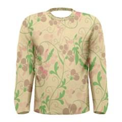 Floral pattern Men s Long Sleeve Tee
