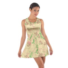 Floral pattern Cotton Racerback Dress