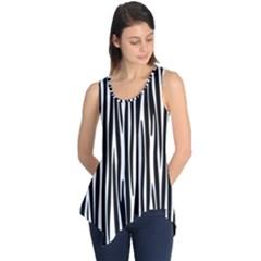 Zebra pattern Sleeveless Tunic