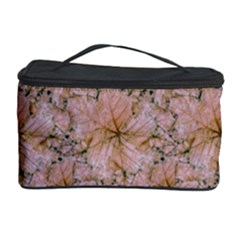 Nature Collage Print Cosmetic Storage Case