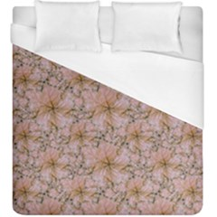 Nature Collage Print Duvet Cover (King Size)