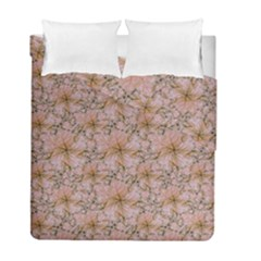 Nature Collage Print Duvet Cover Double Side (Full/ Double Size)
