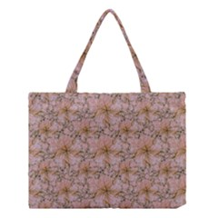 Nature Collage Print Medium Tote Bag