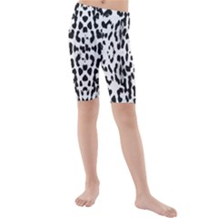 Animal print Kids  Mid Length Swim Shorts