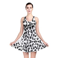 Animal print Reversible Skater Dress