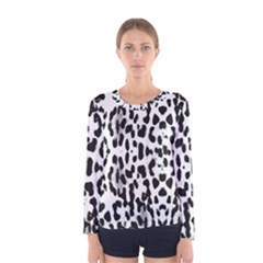 Animal print Women s Long Sleeve Tee