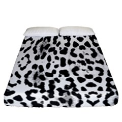 Animal print Fitted Sheet (California King Size)