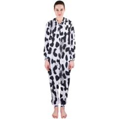 Animal print Hooded Jumpsuit (Ladies)