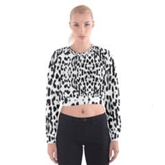 Animal print Women s Cropped Sweatshirt