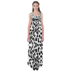 Animal print Empire Waist Maxi Dress