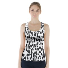 Animal print Racer Back Sports Top