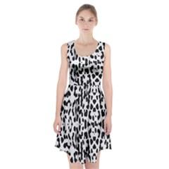 Animal print Racerback Midi Dress