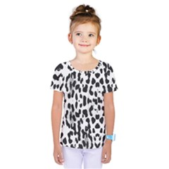 Animal print Kids  One Piece Tee