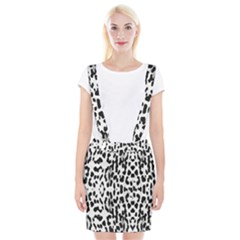 Animal print Suspender Skirt