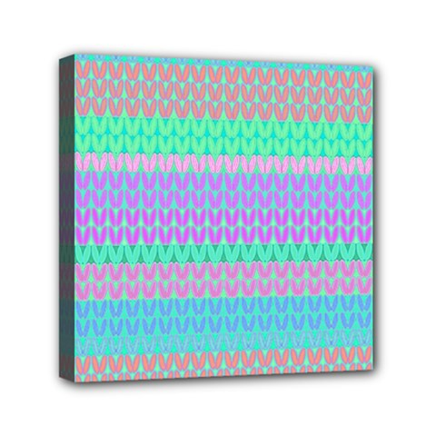 Pattern Mini Canvas 6  x 6