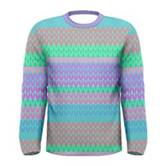 Pattern Men s Long Sleeve Tee