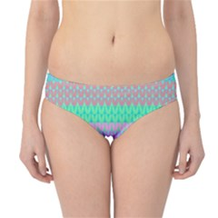 Pattern Hipster Bikini Bottoms