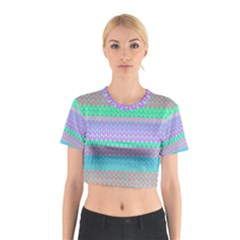 Pattern Cotton Crop Top