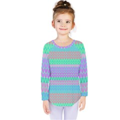 Pattern Kids  Long Sleeve Tee