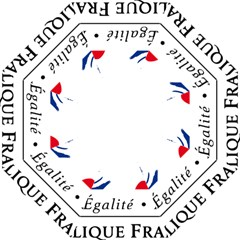 Symbol of the French Government Folding Umbrellas
