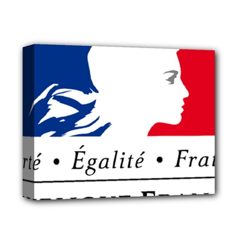 Symbol of the French Government Deluxe Canvas 14  x 11