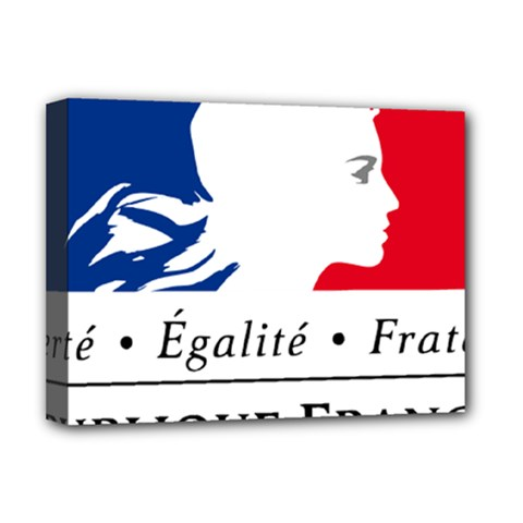 Symbol Of The French Government Deluxe Canvas 16  X 12