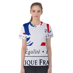 Symbol of the French Government Women s Cotton Tee