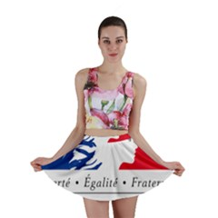 Symbol of the French Government Mini Skirt