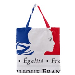 Symbol of the French Government Grocery Tote Bag