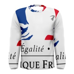 Symbol of the French Government Men s Long Sleeve Tee