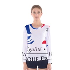 Symbol of the French Government Women s Long Sleeve Tee